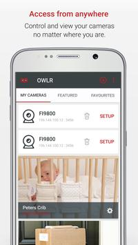 Foscam IP Cam Viewer by OWLR apk screenshot