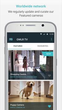 OWLR TV - the world's webcams screenshot 1