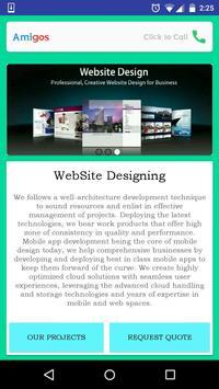 Amigos SW & Mobile Development screenshot 1