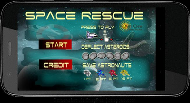 Space Rescue FREE poster