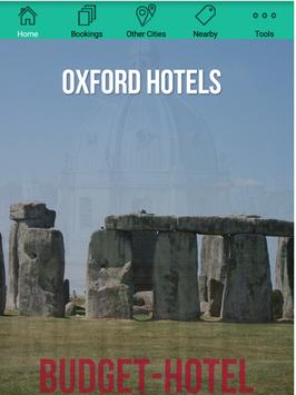 Oxford Hotels poster