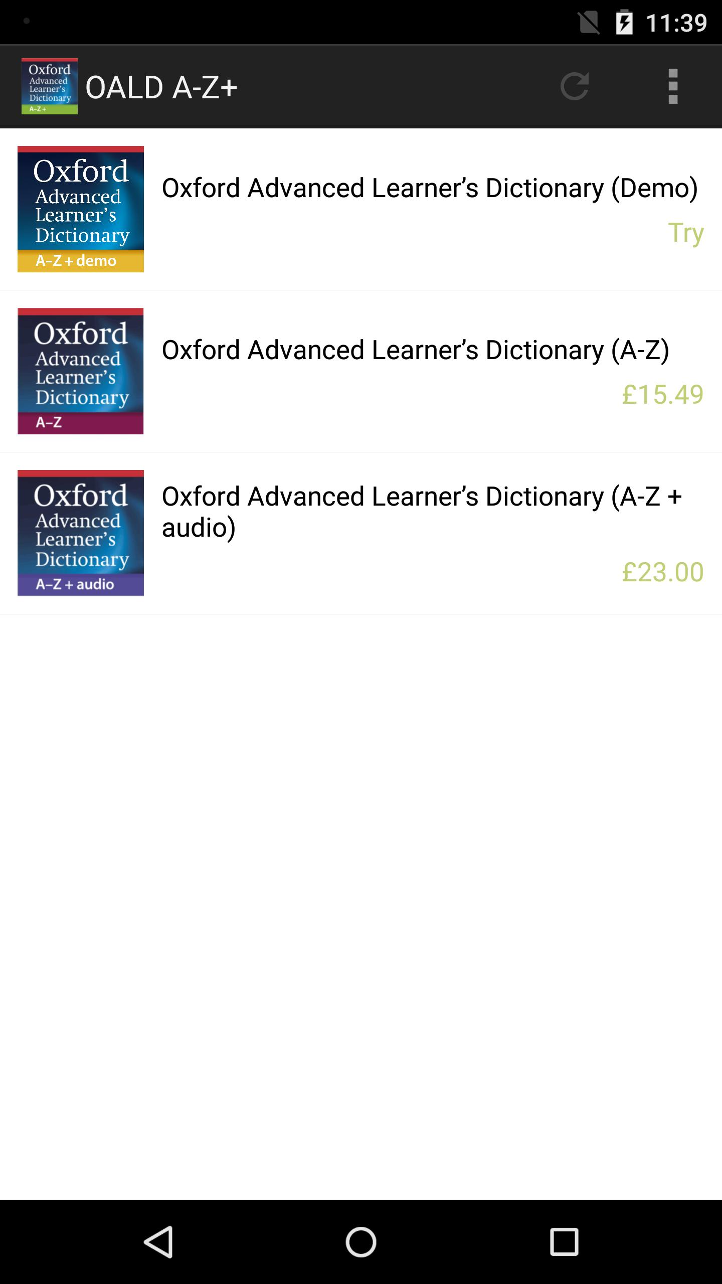 oxford advanced learners dictionary 8th edition apk free download