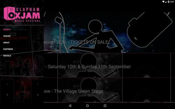Oxjam Clapham apk screenshot