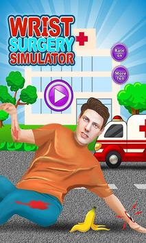Bone Doctor Wrist Surgery: Doctor Operation Games poster
