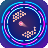 Circular Brick Game: Brick Breaker icon