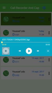 Call Recorder And Cap screenshot 2