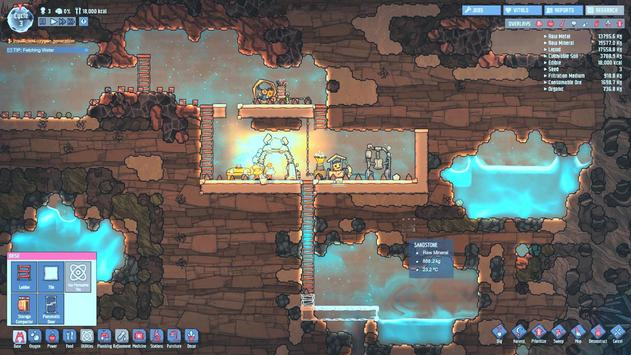 Oxygen Do Not Included Colony apk screenshot