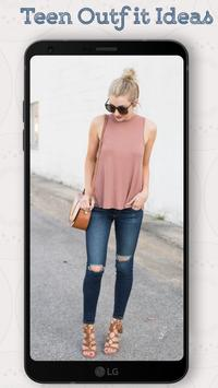 Teen Outfit Ideas 2018 - New Outfits Everyday poster