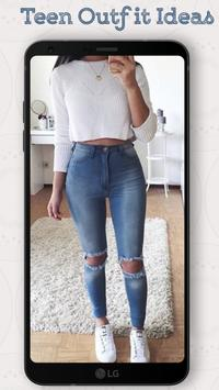 Teen Outfit Ideas 2018 - New Outfits Everyday screenshot 1