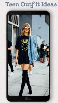 Teen Outfit Ideas 2018 - New Outfits Everyday screenshot 2