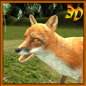 Red Fox Simulator 3D icon