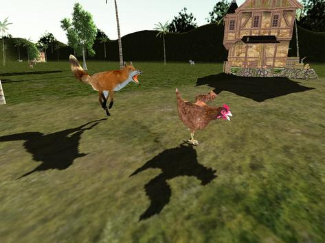 Red Fox Simulator 3D screenshot 5