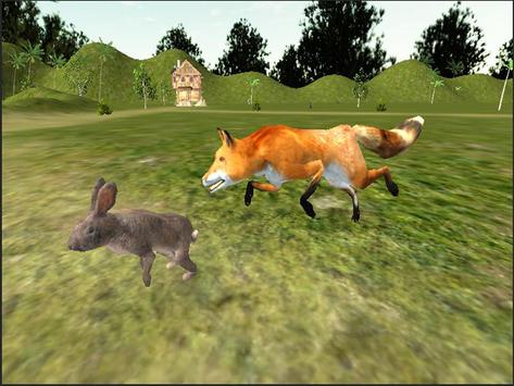 Red Fox Simulator 3D screenshot 6