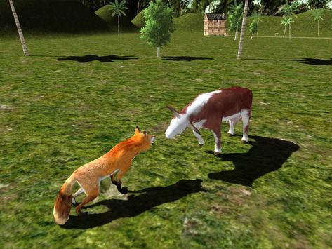 Red Fox Simulator 3D screenshot 9