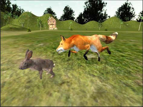 Red Fox Simulator 3D screenshot 11