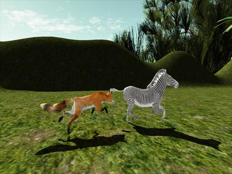 Red Fox Simulator 3D screenshot 12