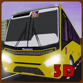 Commercial Bus Transport Drive icon