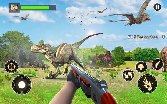Dinosaur Hunt Survival Game 2018 poster