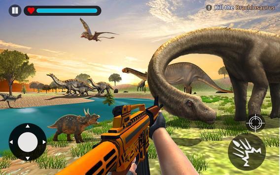 Dinosaur Hunt Survival Game 2018 screenshot 1