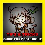 Tips Tricks Guide Postknight icon
