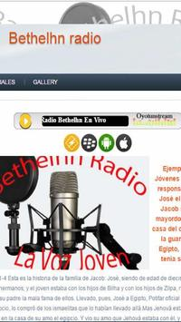 Radio Bethel Hn apk screenshot
