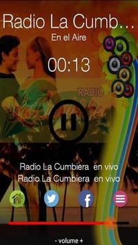Radio La Cumbiera Peru screenshot 1