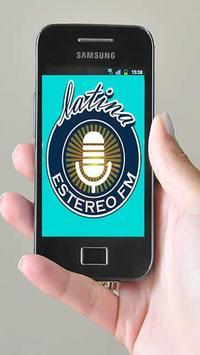 Radio Latina Estereo FM poster