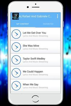 AJ Rafael-Music and Lyrics apk screenshot