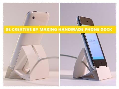 ... DIY Handmade Phone Dock screenshot 5 ...