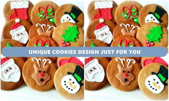 Unique Cookies Design poster
