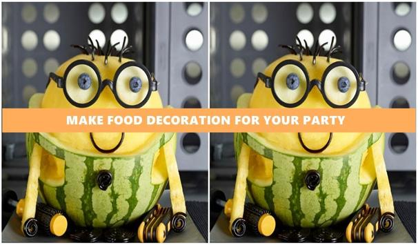 Art of Food Decoration poster