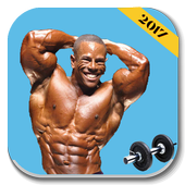 Bodybuilding movements sports icon