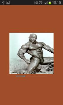 Bodybuilding movements sports poster