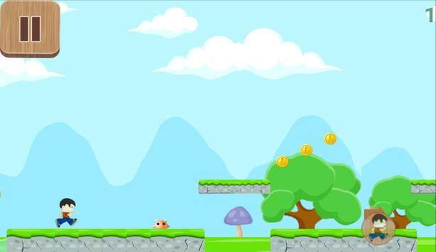 Little Angry Boy Run screenshot 2