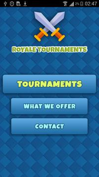 Open Royale Tournaments poster