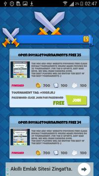 Open Royale Tournaments apk screenshot