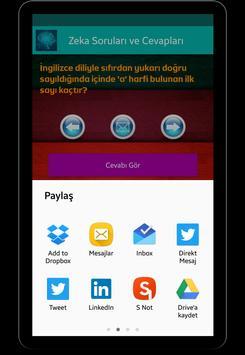 Zeka Soruları ve Cevapları apk screenshot