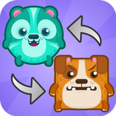 Teleporting Kittens - Swap Fun icon