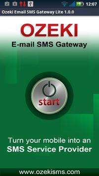 Ozeki E-mail SMS Gateway Lite poster