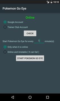 Eye of Pokemon Go apk screenshot