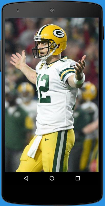 Aaron Rodgers Wallpapers 4 Fans Poster