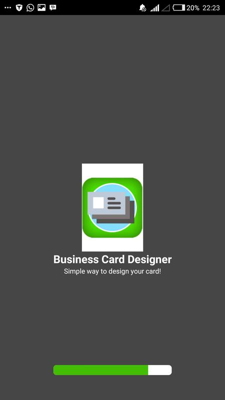 Business card designer apk baixar grtis ferramentas aplicativo business card designer cartaz reheart Gallery