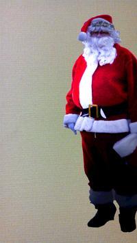 Evidence came Santa! poster