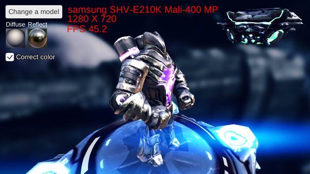 Tech Demo : Metalic Matcap screenshot 3