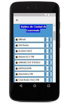 Radios de Guatemala screenshot 1