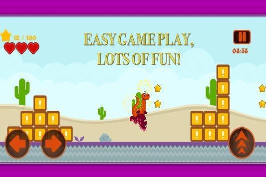 Dino The Monster Platform Run apk screenshot