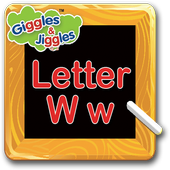 Letter W for LKG Kids Practice icon