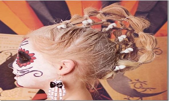 Halloween Hairstyle Ideas apk screenshot