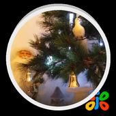 Christmas Santa Live Wallpaper icon