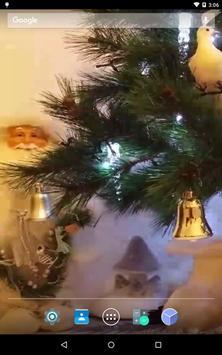 Christmas Santa Live Wallpaper apk screenshot
